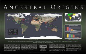 Ancestral Origins Example Map